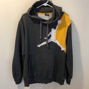 Nike Jordan sweatshirt hoodie size L